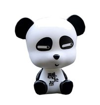 Creative Funny Cartoon Panda Car Ornaments