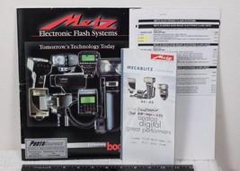 Metz Electronic Camera Flash Systems Catalog Brochure g25 - $4.94
