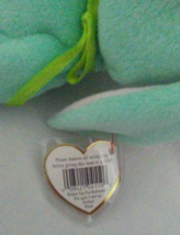TY Beanie Babies Hippity PVC PELLETS Style # RARE ERRORS Retired image 3