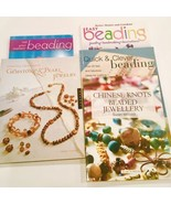Lot Of 5 Beads & Jewelry Making Craft Books Gemstone Pearls - $25.42