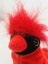 "Ty Mac Cardinal Bird Beanie Babies 6"" Date Of Birth June 10 1998 Red Bla... - $7.99"