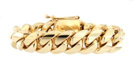 Unisex 10kt Yellow Gold Bracelet - $6,799.00