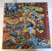 TOONIVERSE All Dogs Must Be on a Leash 550 pc Puzzle 20x20 Steve Skelton. USA. - $15.44