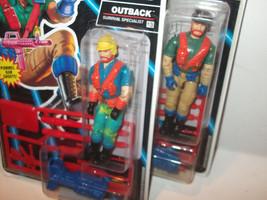 LOT 2 versions✰ Hasbro Vintage GI Joe BATTLE CORPS OUTBACK ✰ NEW figure ... - $59.99