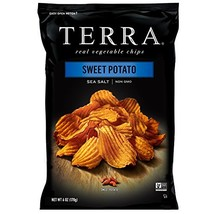 TERRA Sweet Potato Chips with Sea Salt, 6 oz. Pack of 12 - $38.16