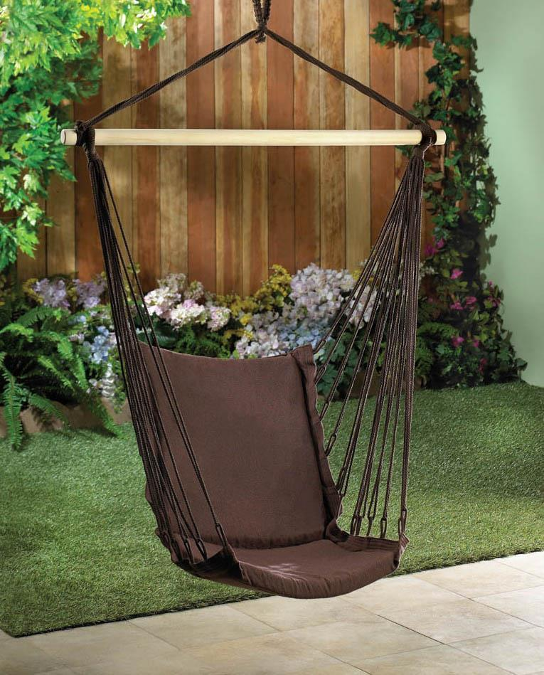 Hanging Chair Swing Hanging Rope Chair Swing, Portable Patio Hanging Chair Swing