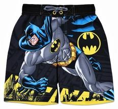 BATMAN CAPED CRUSADER UPF-50+ Bathing Suit Swim Trunks NWT Boys Sz. 5/6 ... - $14.99