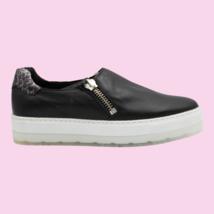 DIESEL S-Andyes Zip On W Womens Causal Athletic Sneaker Black Size 8 - $97.01