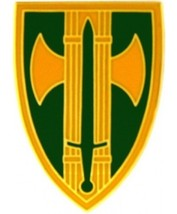US Army 18th MP Brigade Combat Service Badge   (2 inch) - $14.84