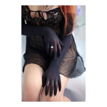 Women Sheer Seamless Wedding Pantyhose long  Gloves Mittens.4 color choice - $12.34