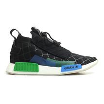 Adidas Consortium x Mita NMD TS1 PK Primeknit (Black/ Blue/ Green) Men 7-13 - $299.99