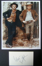 ROBERT REDFORD  (BUTCH CASSIDY & SUNDANCE KID) ORIGINAL AUTOGRAPH (WOW) - $148.50