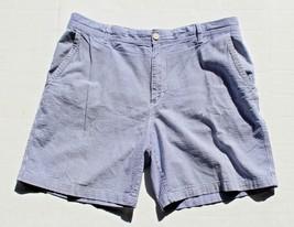 Izod da Uomo 38W Cotone a Strisce Alterne senza Piega Blu 100% Cotton Sh... - $17.40