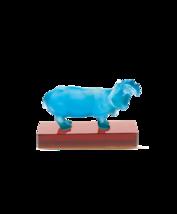Daum  Hippopotamus blue color 02459 FRANCE Crystal - $1,650.00