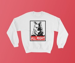 My Hero Academia Sweatshirt, All Might, Boku No Hero Academia, Anime, Anime Swea - $34.98+