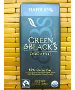 GREEN & BLACK'S ORGANIC Dark Chocolate 85% Cacao Bar 3.5 oz - $6.92