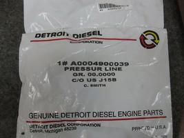 Detroit Diesel A0004900039 Pressure Line Genuine OEM New image 2