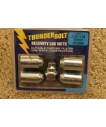 """Thunder Bolt Security Lug Nuts 7/16"""" x 20 Thread Acorn 19901 - $16.78"""