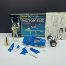 Micronauts Mego 1976 robot action figure vehicle complete Photon Sled tw... - $222.75