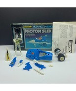 Micronauts Mego 1976 robot action figure vehicle complete Photon Sled tw... - $222.75