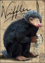 Fantastic Beasts Movie Niffler Name and Photo Fridge Magnet Harry Potter NEW - $3.99