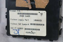 2005 Nissan Xterra 4x2 ECU ECM Computer BCM Ignition Switch W/ Key MEC35-612-A1 image 4