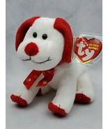 TY Beanie Baby Plush Toy pink red dog lovey-dovey heart valentine  (B) - $10.00