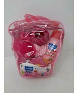 Suave Kids 8 Piece Bath Set Pink Strawberry Swirl - $16.82