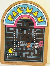 Vintage 1980 Pac Man Arcade Style Picture Bally Midway - $29.69