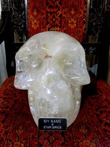 CRYSTAL SKULL 67LBS QUARTZ 1.5 FT PIRATE GOLD COINS TREASURES OF EARTH J... - $14,950.00