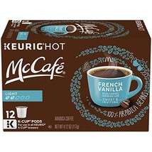 McCafe French Vanilla K Cup Pods, 72 Count 6 Pack of 12 count boxes - $75.79