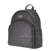New Michael Kors Signature Jet Set Item Large Black Backpack - $147.51