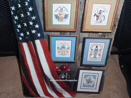 Great American Heroes  Cross Stitch #61 was published by Jeanette Crews ... - $6.95