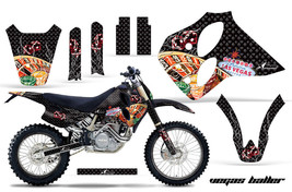 Number Plate Decal Graphic Kit Sticker Wrap For KTM LC4/SX/XC 1993-1997 ... - $294.26
