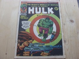 Mighty World of Marvel  #54  Oct 13   1973  UK   Excellent Condition - $6.43