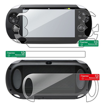 Full Body Screen Protector Compatible With Sony PlayStation Vita 1000 (2 Packs)
