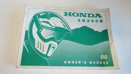 2000 Honda XR200R XR 200 R Owners Factory Information Book Manual OEM - $19.09