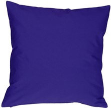 Pillow Decor - Caravan Cotton Royal Blue 23x23 Throw Pillow - $37.95