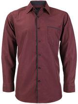 LW Men's Western Button Up Long Sleeve Designer Dress Shirt image 15