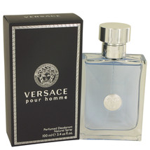 Versace Pour Homme By Versace Deodorant Spray 3.4 Oz For Men - $57.62