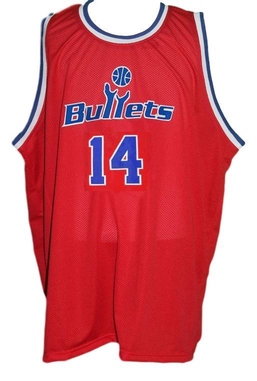 Robert pack washington retro basketball jersey red   1