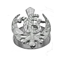 925 Sterling Silver Sikh Khanda onkar God is One Supreme Reality Jewelry... - $35.52