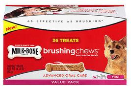 Brushing Chews Daily Dental Treat, 36-Ct. Mini - $23.75
