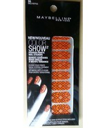 Maybelline Color Show Fashion Prints Nail Stickers, # 30 Wild Reptile - $3.99