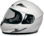 AFX FX-90 Solid Full Face Motorcycle Helmet Pearl White, Large