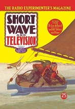 Short Wave and Television: Radio Controlled Ice Sailing by Hugo Gernsback - Art  - $19.99+