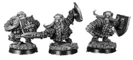 Spellcrow 28mm Fantasy Miniatures: Dwarves of Thargomind - Royal Blades