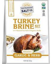 Organic Turkey Brine Kit - 16 oz. Garlic & Organic Herb Blend by San Fra... - $12.82