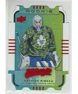 15/16 UD MVP Toronto Maple Leafs Antoine Bibeau Colors & Contours RC Teal L3 179 - $14.99