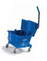 Carlisle 3690814 Commercial Mop Bucket With Side Press Wringer, 26 Quart... - $71.83